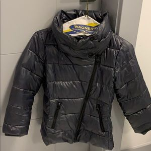 Girls Puffer coat sized 6-7
